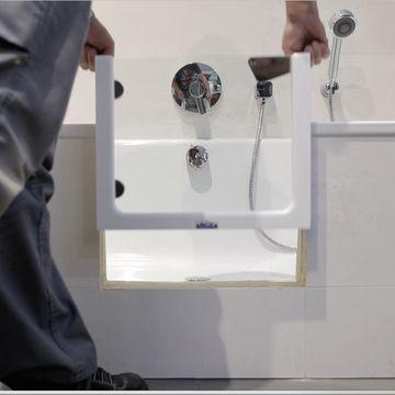 nachtr glicher einbau einer t r in die badewanne magicbad. Black Bedroom Furniture Sets. Home Design Ideas
